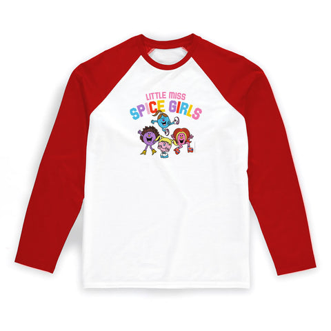 Little Miss Spice Girls Baseball T-Shirt