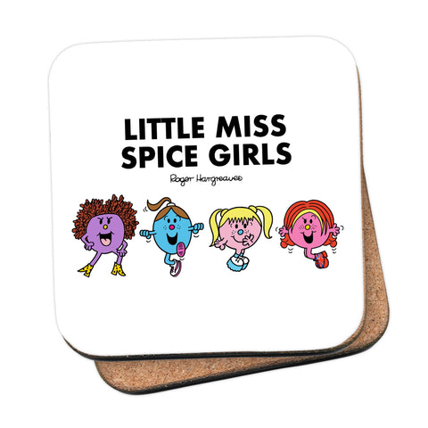 Little Miss Spice Girls Coaster