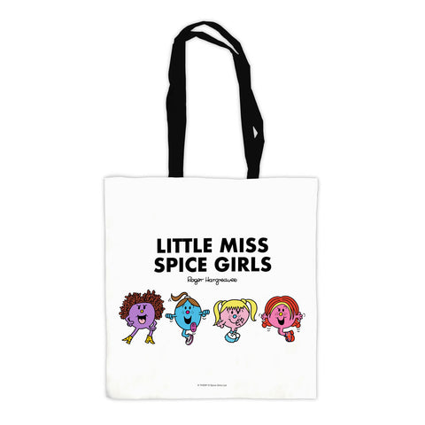 Little Miss Spice Girls Tote Bag