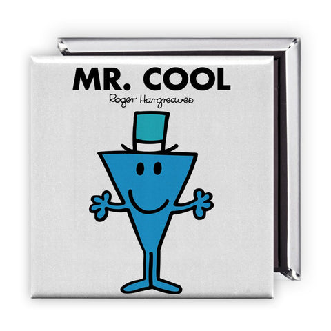 Mr. Cool Square Magnet