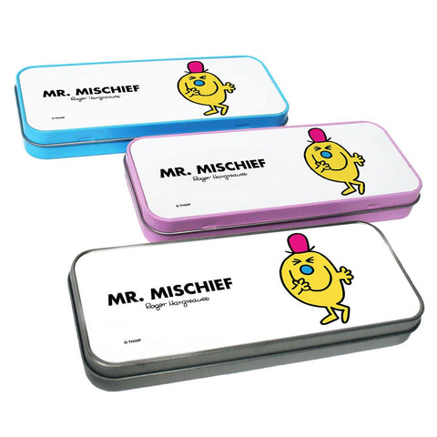 Mr. Mischief Pencil Case Tin