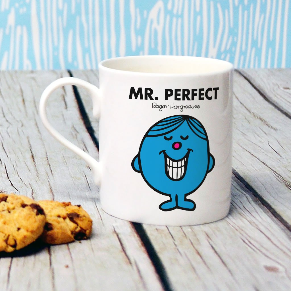Mr. Perfect Bone China Mug (Lifestyle)