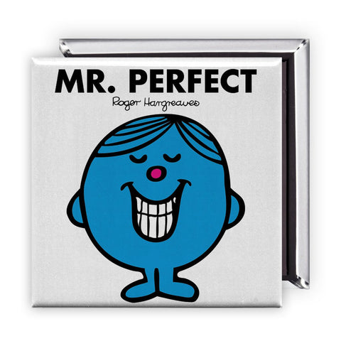 Mr. Perfect Square Magnet