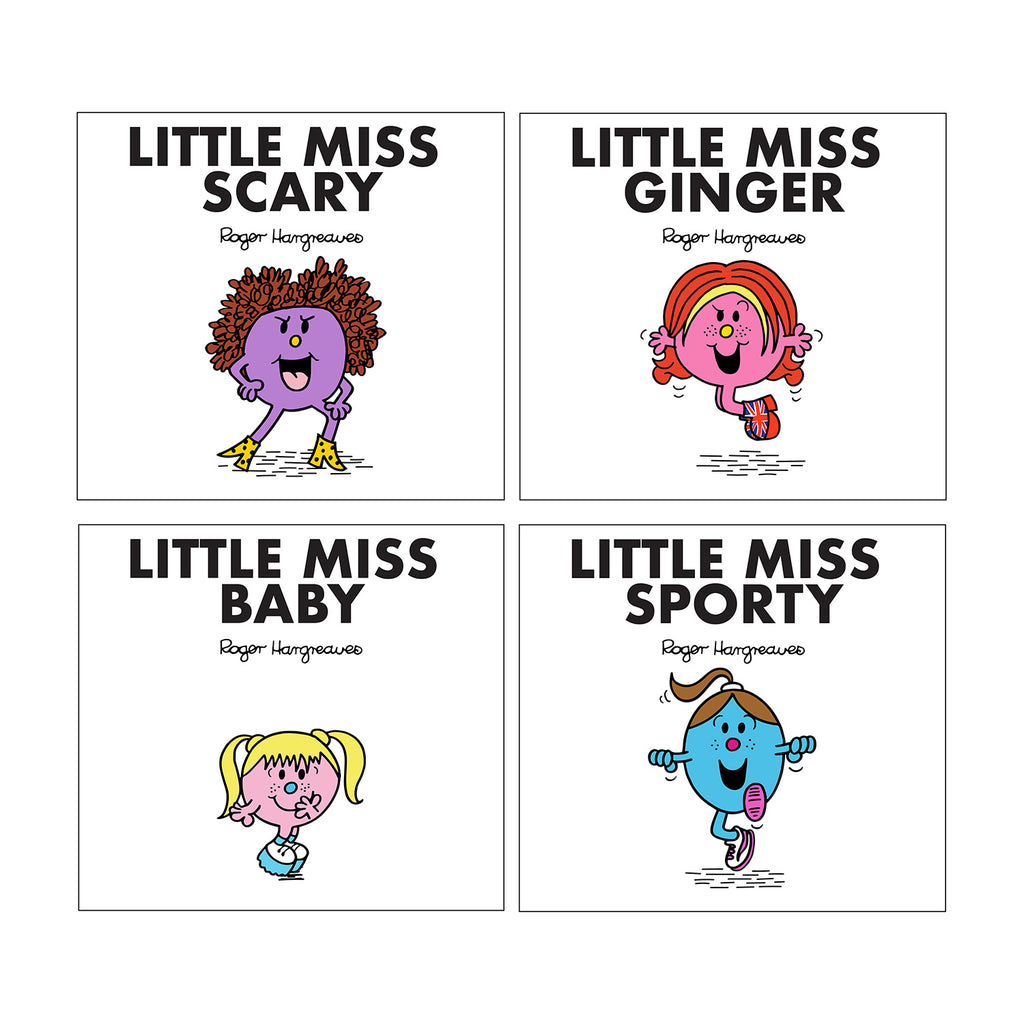 Little Miss Spice Girls Book Collection Set Of 4