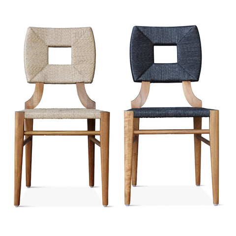 Outdoor How to Marry a Millionaire Dining Chair in Charcoal or Sand