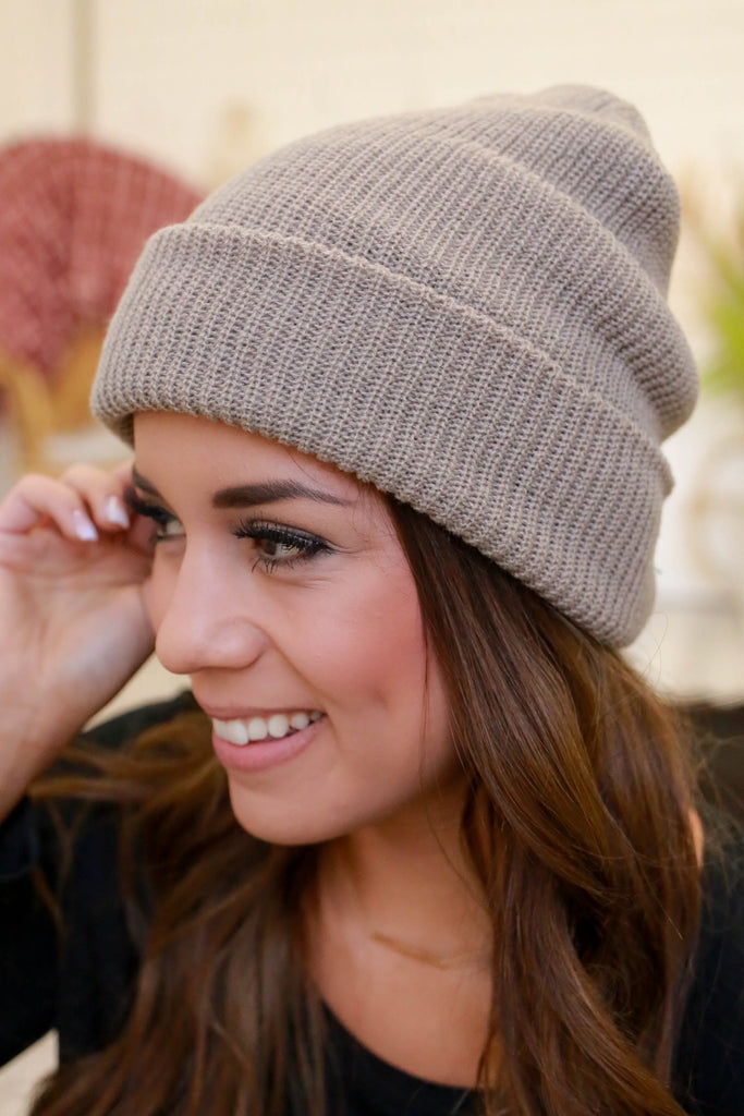 Knit Beanie - Online Clothing Boutique