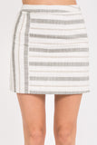 Striped Mini Skirt - Online Clothing Boutique