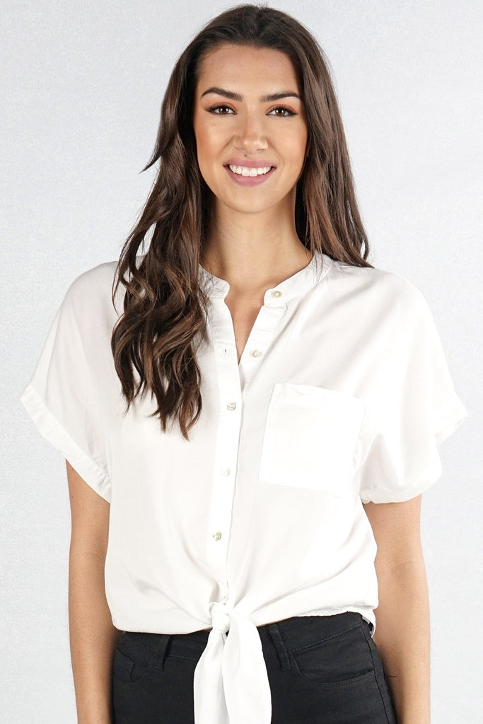 Button Up Top - Online Clothing Boutique