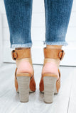 Ariel-01 Faux Leather Heels - Online Clothing Boutique