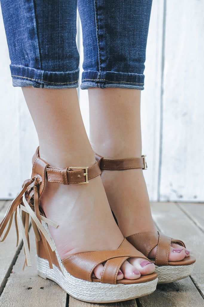 MADISON-134 Wedges - Online Clothing Boutique