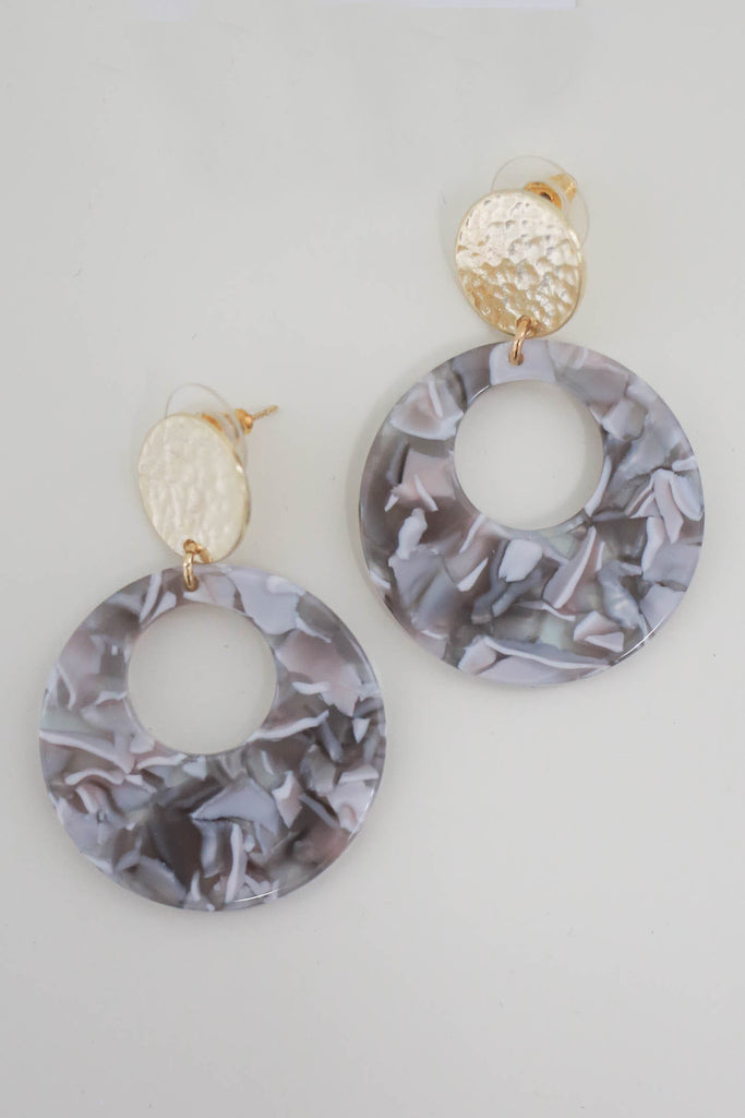 Circle Earrings - Online Clothing Boutique