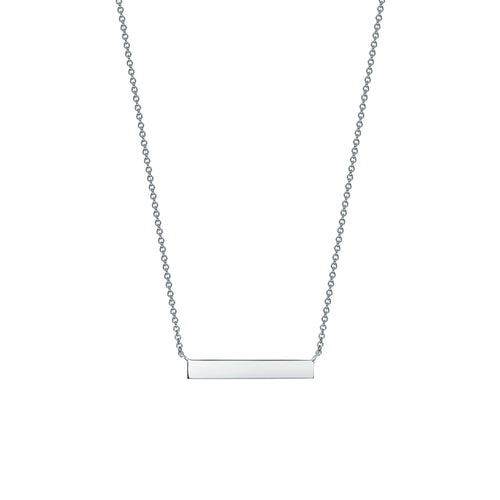 Birks Sterling Horizontal Bar Necklace