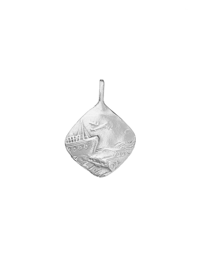 NEW Traveller's Amulet Pendant Silver