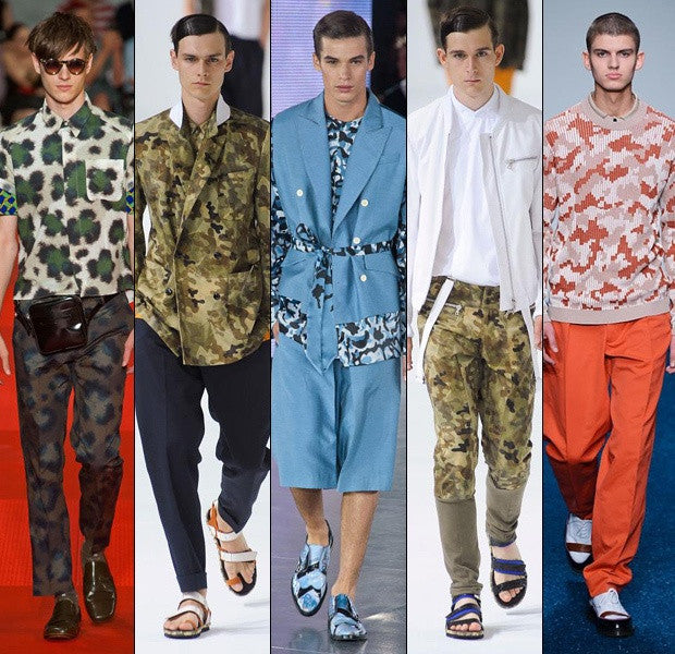 How To Wear Camouflage Prints