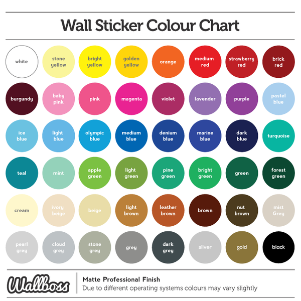 Creativity Wall Vinyl Sticker