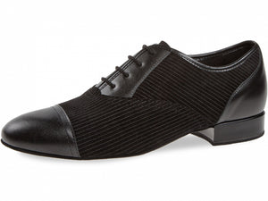 Diamant-077-075-165 Black leather\suede lazer