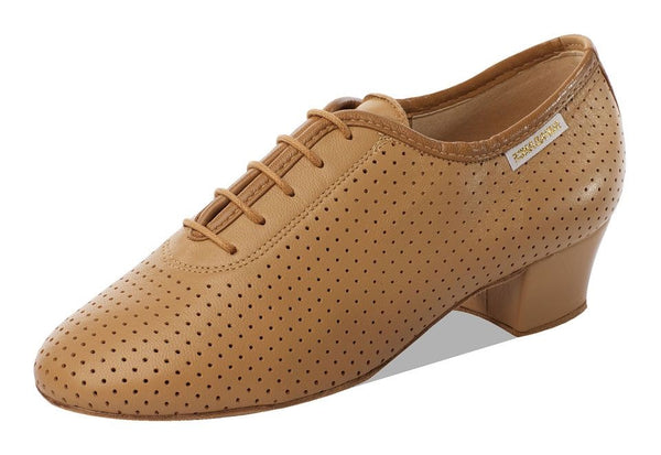 Supadance 1026 Ladies Closed Toe Leather/Perforated Practice Shoe