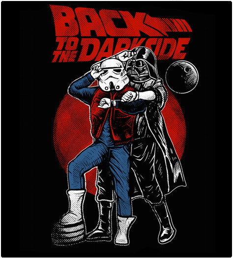 Back To The Darkside-T-Shirt-Star Wars-Shirt Battle