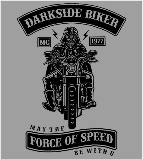 Darkside Biker-T-Shirt-Star Wars-Shirt Battle