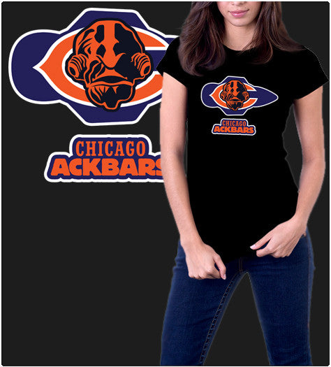 Chicago Ackbars-T-Shirt-Star Wars-Shirt Battle
