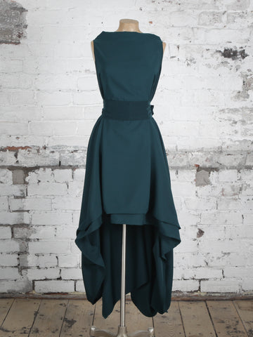 Bottle Green Wendy Dress