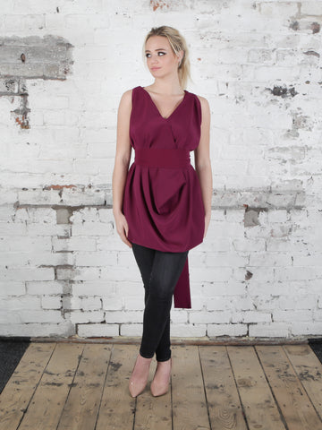 Plum Poppy Top