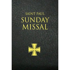 Saint Paul Sunday Missal: Black Leatherlex