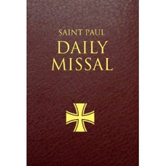 Saint Paul Daily Missal: Burgundy Leatherflex