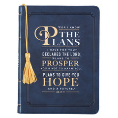 Jeremiah 29:11 Leather Journal