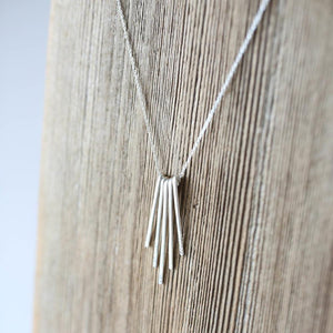 N221 - Fringe Necklace