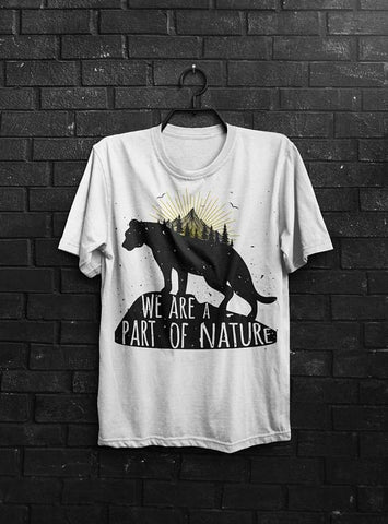 Safe Nature Quote T-Shirt