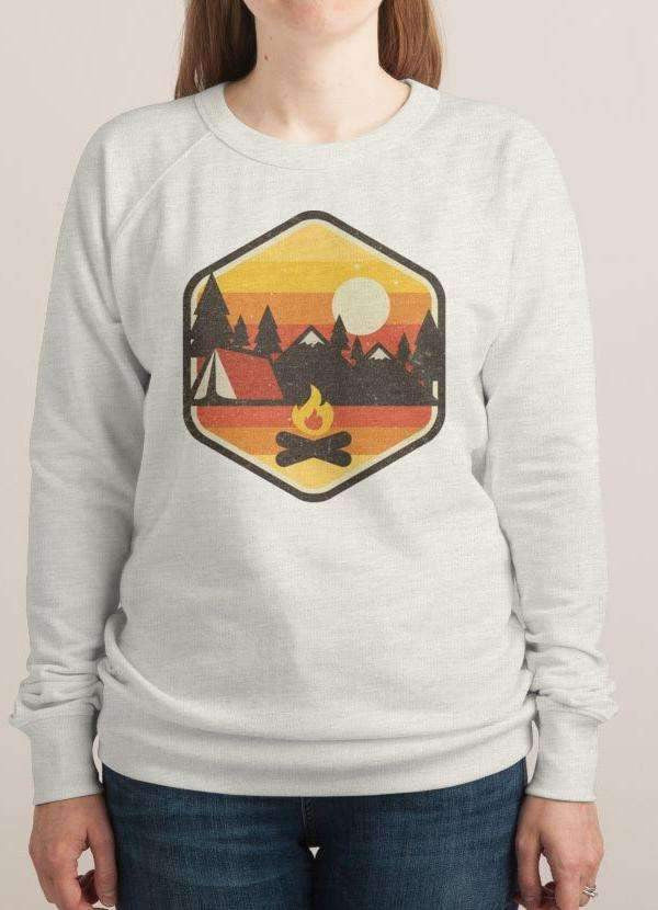 Retro Camping Women's Sweatshirt - Shop My Adventure