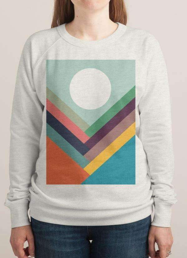 Rows of Valleys Women's Sweatshirt - Shop My Adventure
