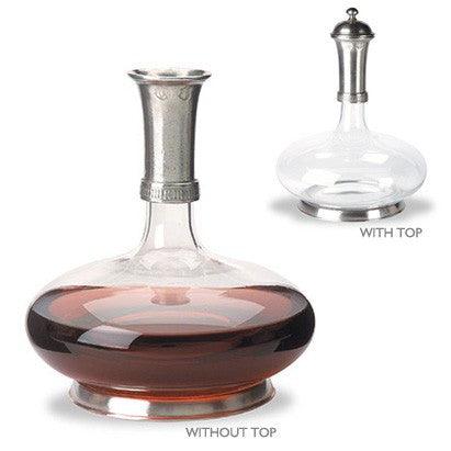 Wine Decanter By Match Pewter