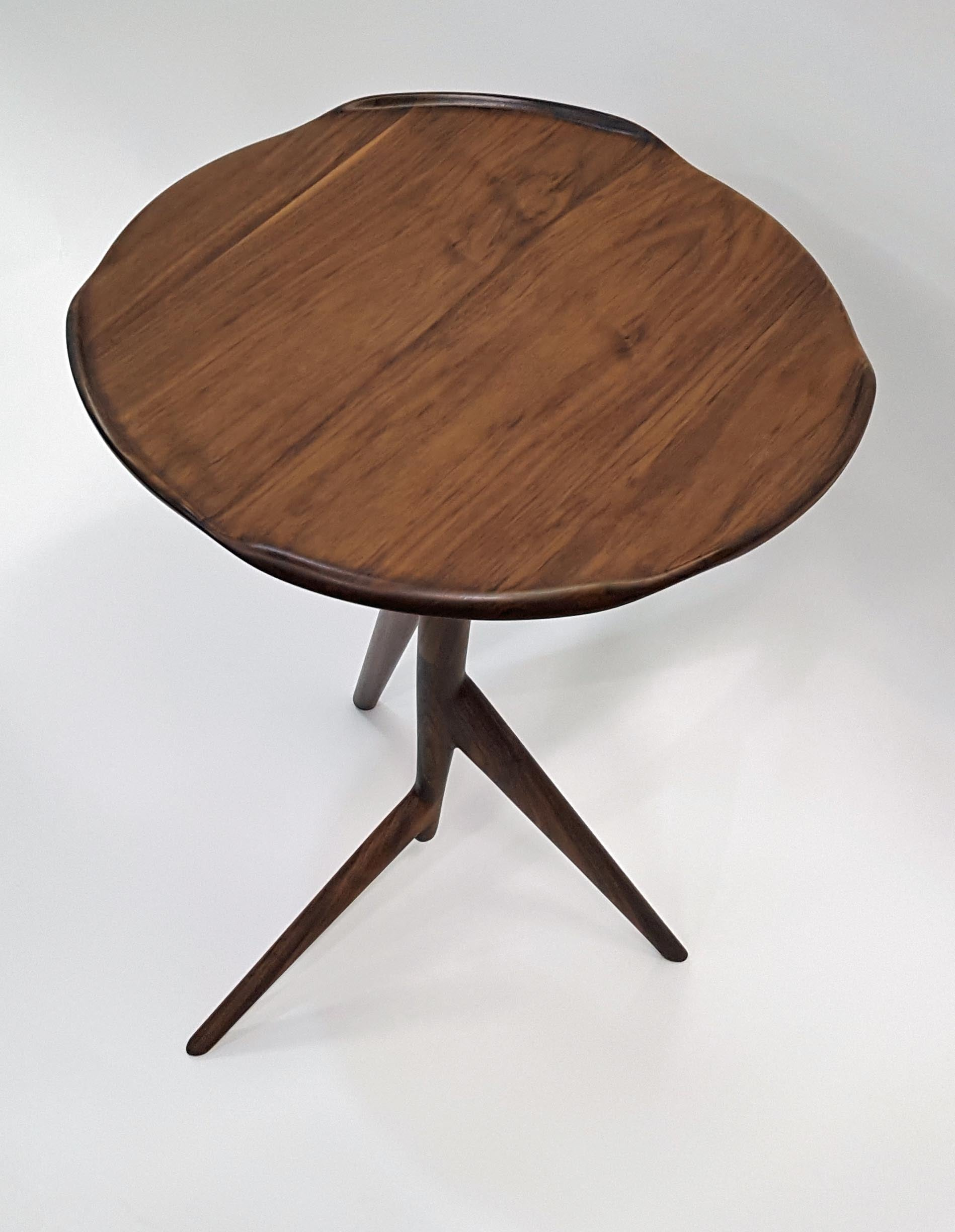 Twig Side Table w/Wavy Top - Slice Furniture