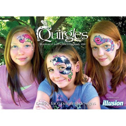 Quirgles-Quirky Face Painting Designs