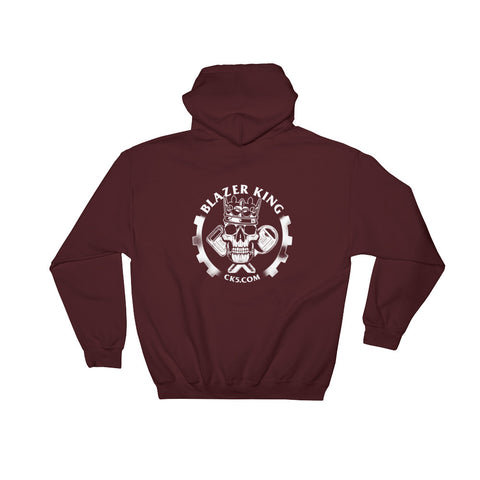 CK5 BLAZER KING Hooded Sweatshirt (two sided design)