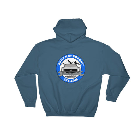 CK5 Wrench Hooded Sweatshirt (two sided design)