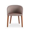 Buy Barrel Shaped Contemporary Wood Legged Barclay Armchair | 212Concept