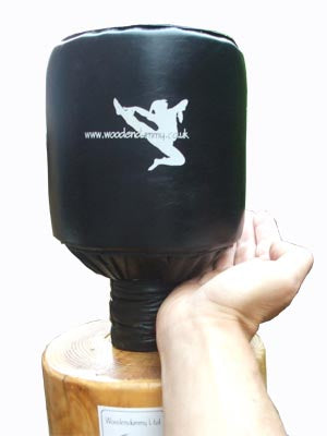 Spring Loaded Leather padded dummy Head