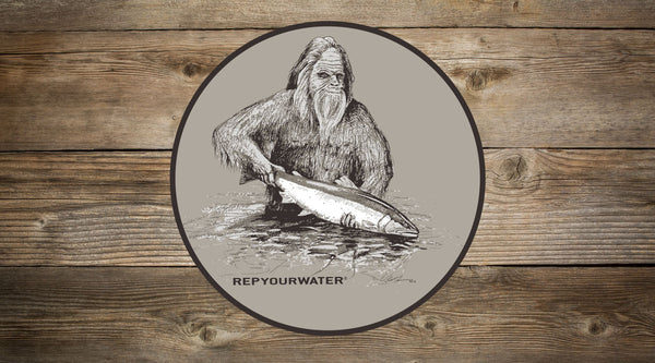 Squatch and Release Sticker