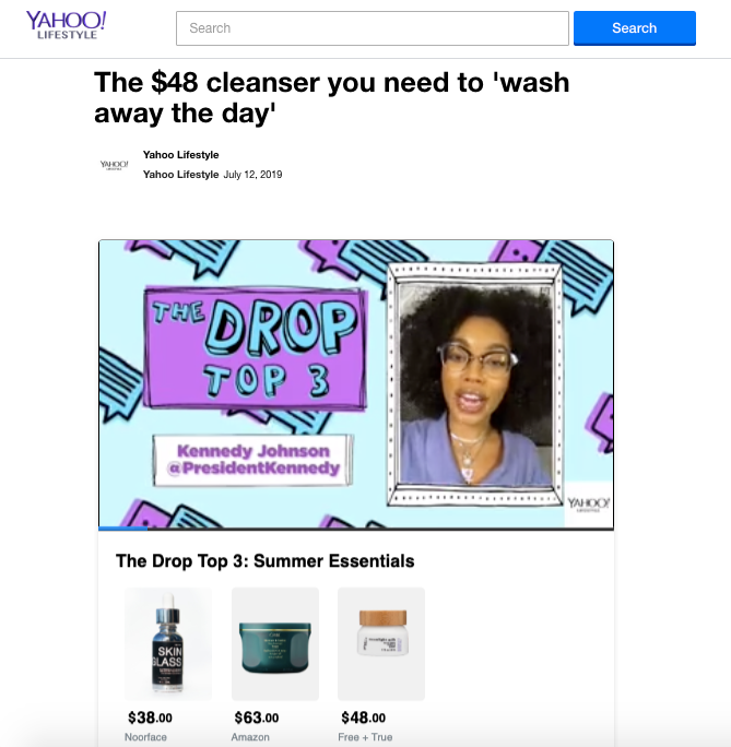 The $48 Cleanser You Need To Wash The Day Away - Yahoo