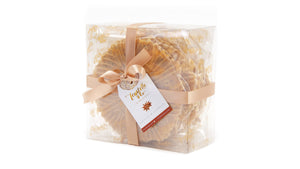 Ferratelle or pizzelle box of aniseed & sambuca flavour