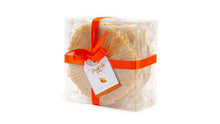Load image into Gallery viewer, Ferratelle or pizzelle box of orange & almond flavour