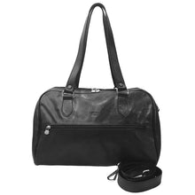 (I Medici Leather Duffel Italian Handbag