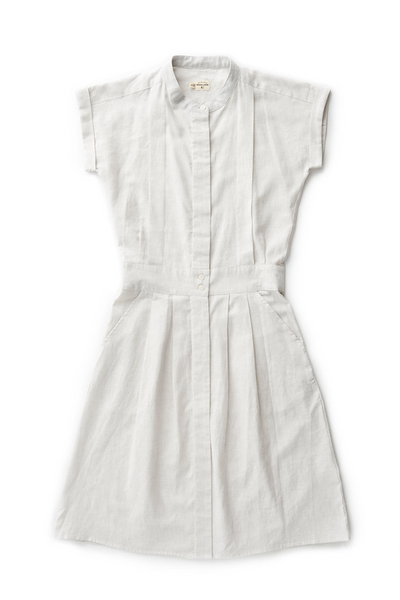 Bridge & Burn fit and flare shirt dress Gwen Natural