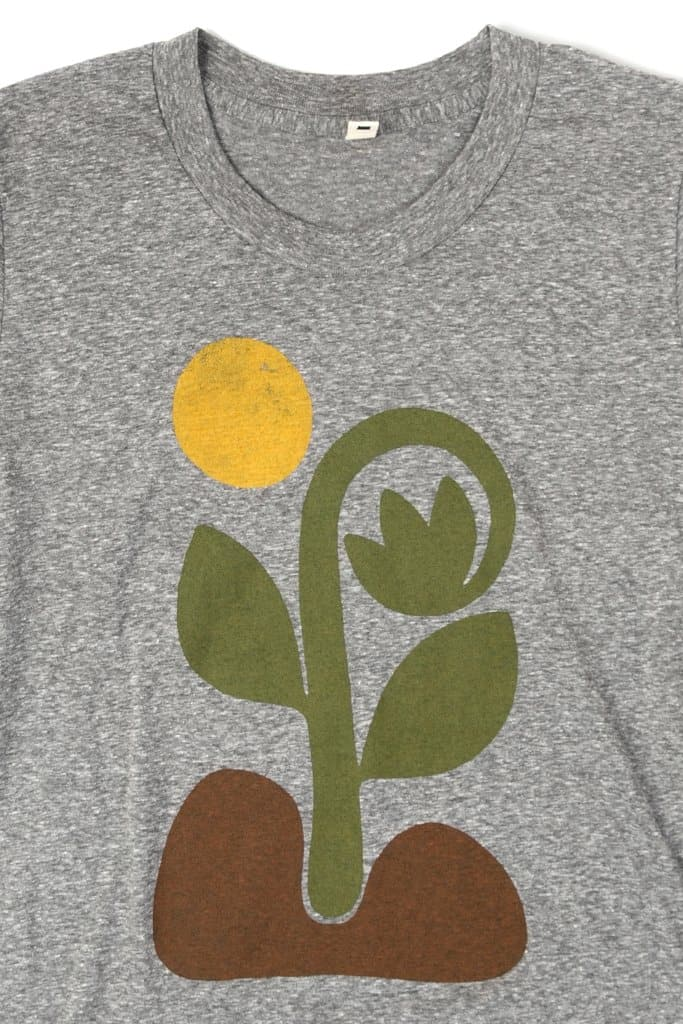 Bridge & Burn Women's Grow Grey t-shirt