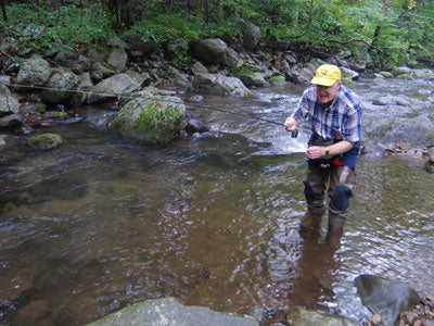 Mountain Trout Streams Fly Fishing Report --July 10, 2019