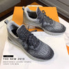 AEE Silver Gray Breathable Mesh Sneakers