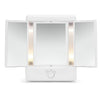 Two-Sided Lighted Makeup Mirror